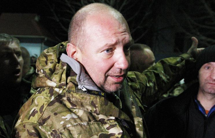 Экс-командир батальона Айдар Сергей Мельничук