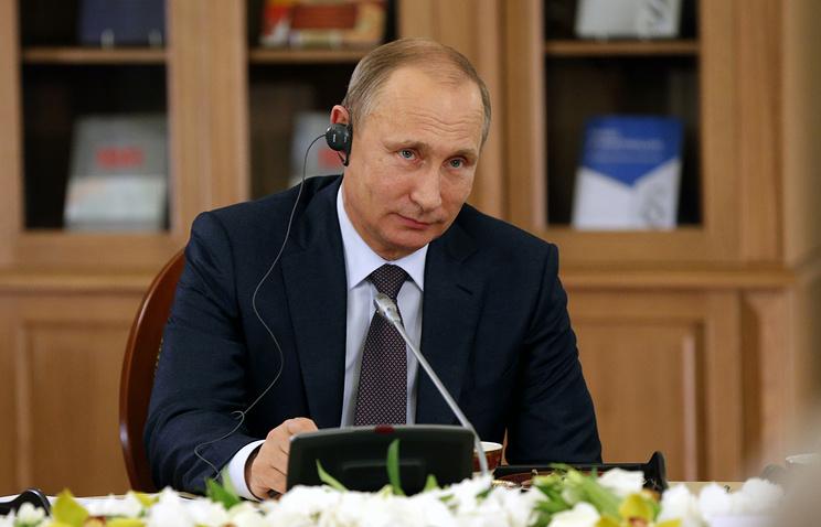 Владимир Путин на ПМЭФ-2015