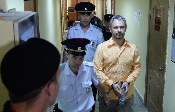 Дмитрий Лошагин после оглашения приговора в Октябрьском районном суде