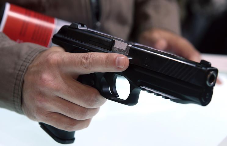"""Пистолет ПЛ-14 калибра 9 миллиметров от концерна """"Калашников"""""""