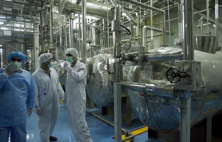 Завод по конверсии урана в Исфахане