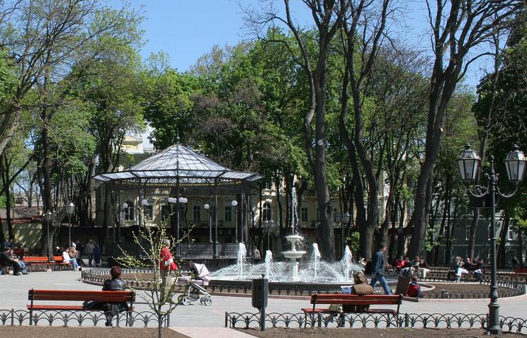 Городской парк в Одессе