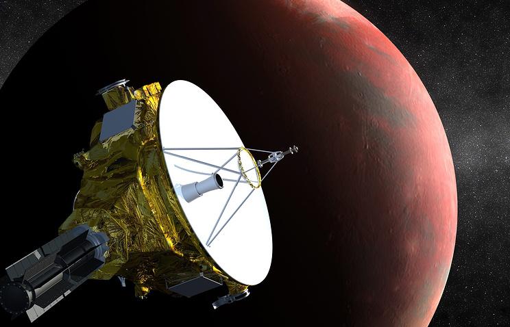 Космический аппарат New Horizons