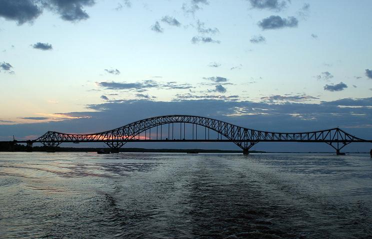 Мост через Иртыш в Ханты-Мансийске