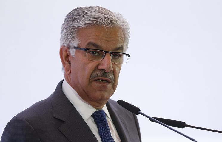 Министр обороны Пакистана Хаваджа Асиф