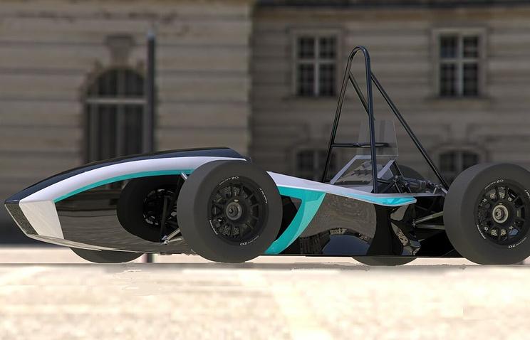 Проект нового болида, который будет представлен на соревнованиях Formula student