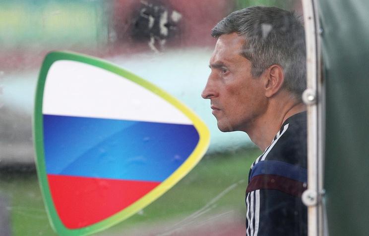 Наставник российской команды Дмитрий Хомуха