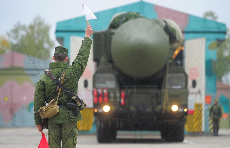 """Ракетный комплекс """"Ярс"""""""