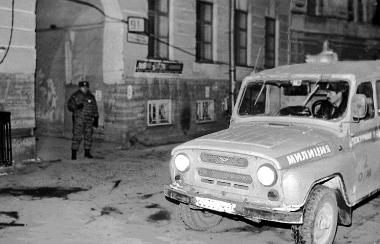Место убийства Галины Старовойтовой, 21 ноября 1998 год