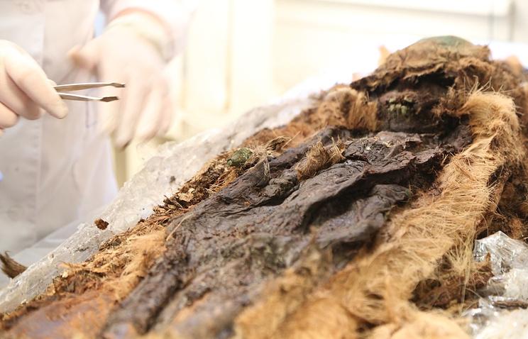 Мумифицированные останки ребенка, найденные на Ямале