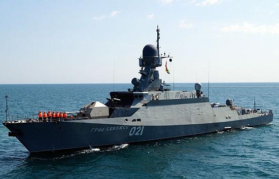 """Корабль проекта 21631 """"Град Свияжск"""""""