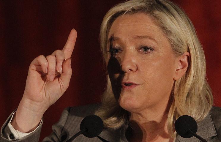 Председатель партии Национальный фронт Марин Ле Пен