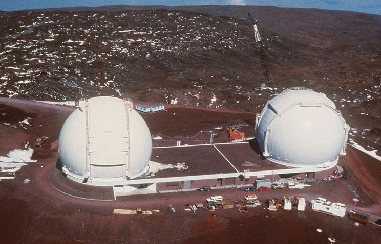 Обсерватория Кека (W. M. Keck Observatory)