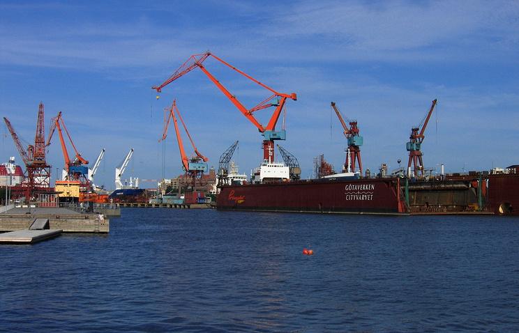 Порт  Гетеборга