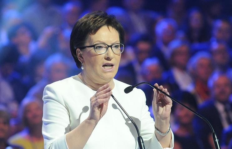 Премьер-министр Польши Ева Копач