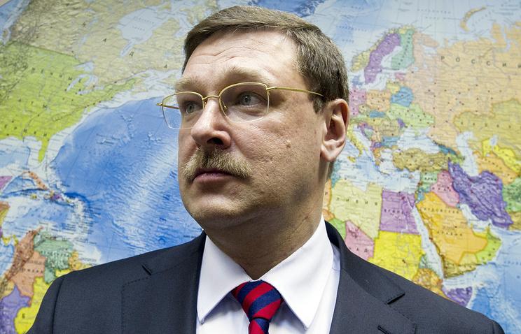 Председатель Комитета Госдумы РФ по международным делам Константин Косачев