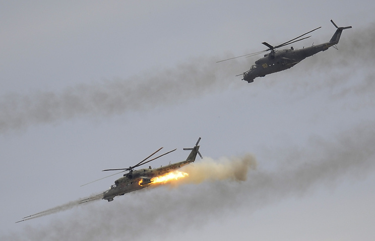 Вертолеты Ми- 24