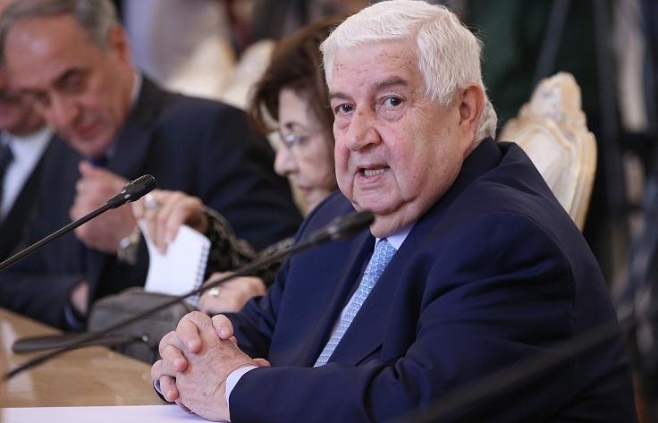 Министр иностранных дел САР Валид Муаллем