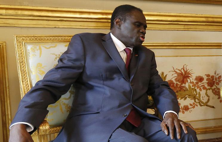 Временный президент Буркина-Фасо Мишель Кафандо