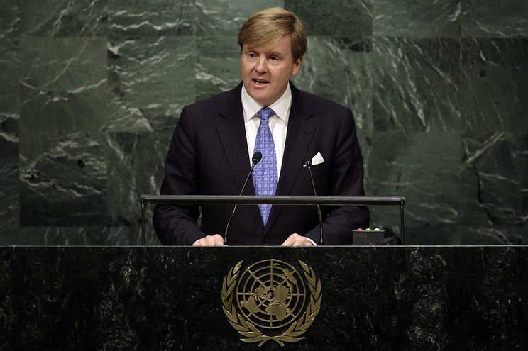 Король Нидерландов Виллем-Александер