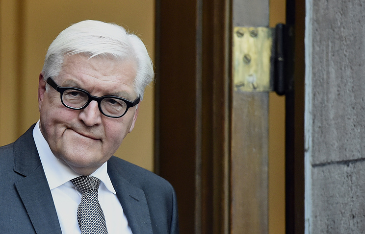 Глава МИД ФРГ Франк-Вальтер Штайнмайер