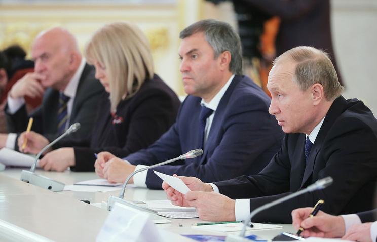 Заседание президентского Совета по правам человека в Кремле