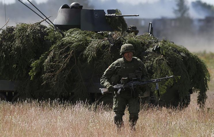 "Во время учений НАТО ""Удар сабли"", архив"