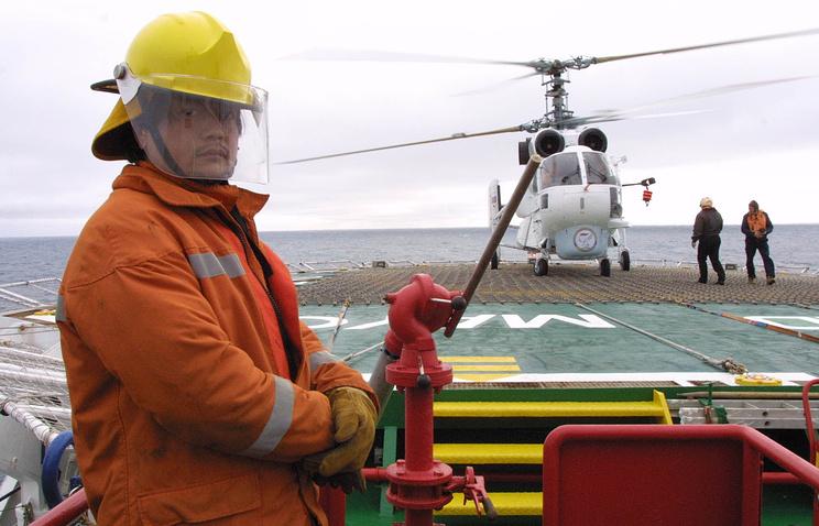 Вертолет морской авиации Ка-32