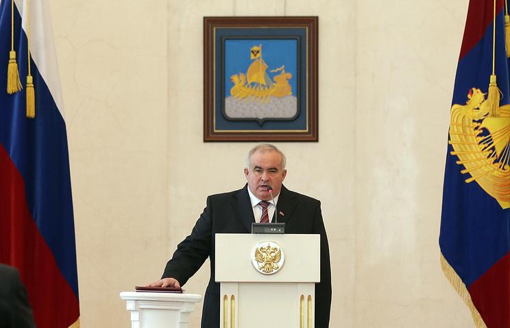 Избранный губернатор Костромской области Сергей Ситников