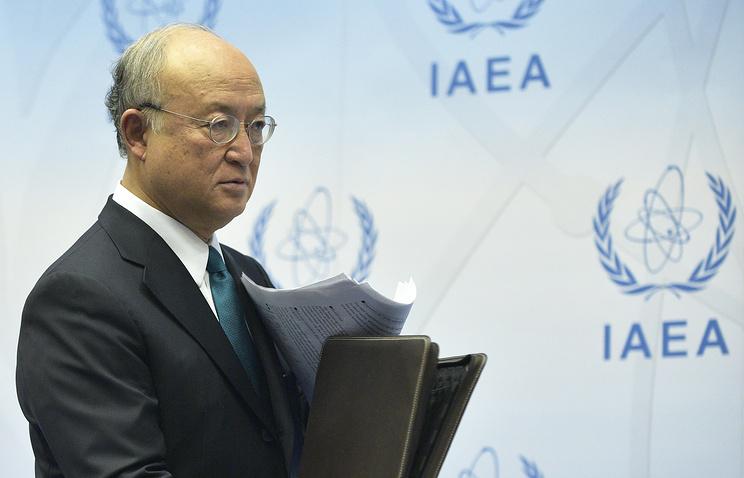 Генеральный директор Международного агентства по атомной энергии (МАГАТЭ) Юкия Амано