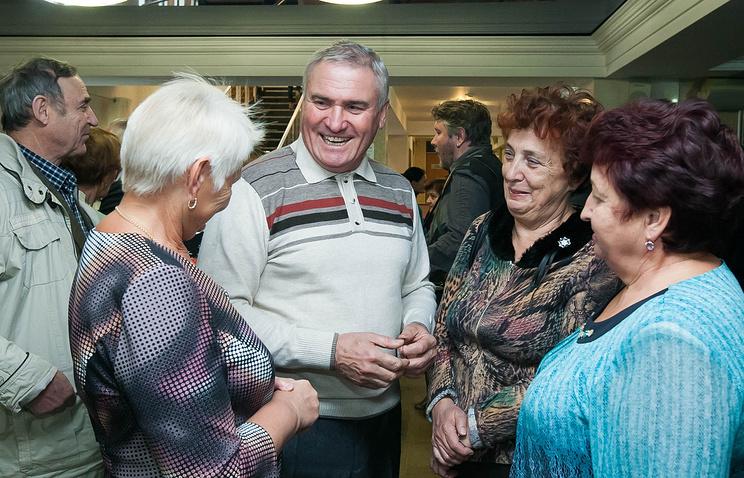 Празднование Дня пожилого человека в КСК «Олимп» в Екатеринбурге