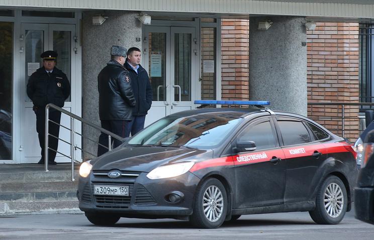 Здание администрации Красногорска, где были убиты первый заместитель мэра Красногорска Юрий Караулов и руководитель красногорских электросетей Георгий Котляренко