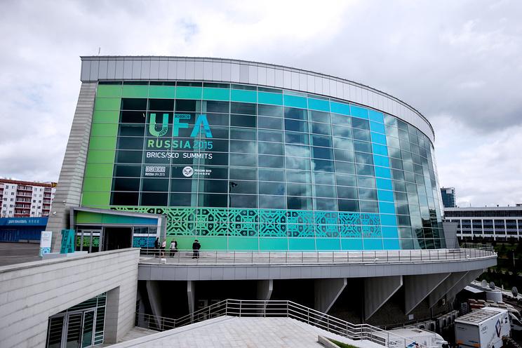 Конгресс-холл, где проходили саммиты стран БРИКС и ШОС