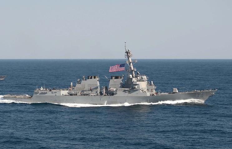 """Ракетный эсминец ВМС США """"Лассен"""" (USS Lassen)"""