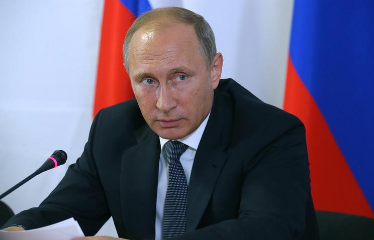 Президент России Владимир Путин, архив