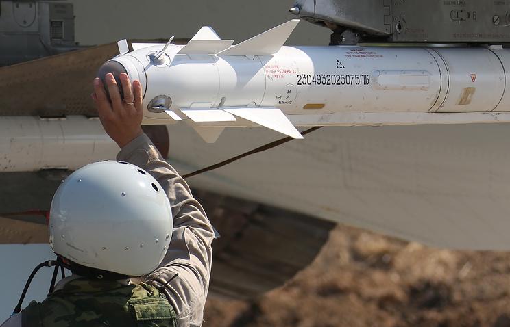 """Ракета Р-73 класса """"воздух-воздух"""""""