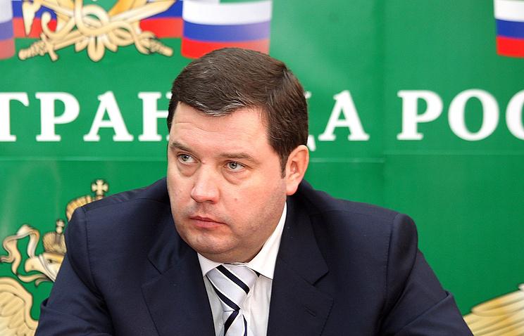 Бывший глава Росграницы Дмитрий Безделов