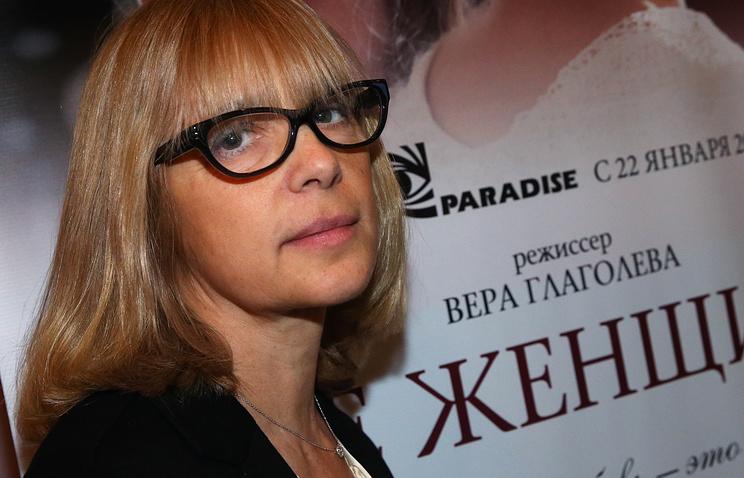 Актриса Вера Глаголева