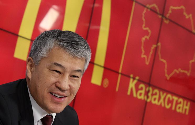 Владелец франшизы McDonald's в Казахстане Кайрат Боранбаев
