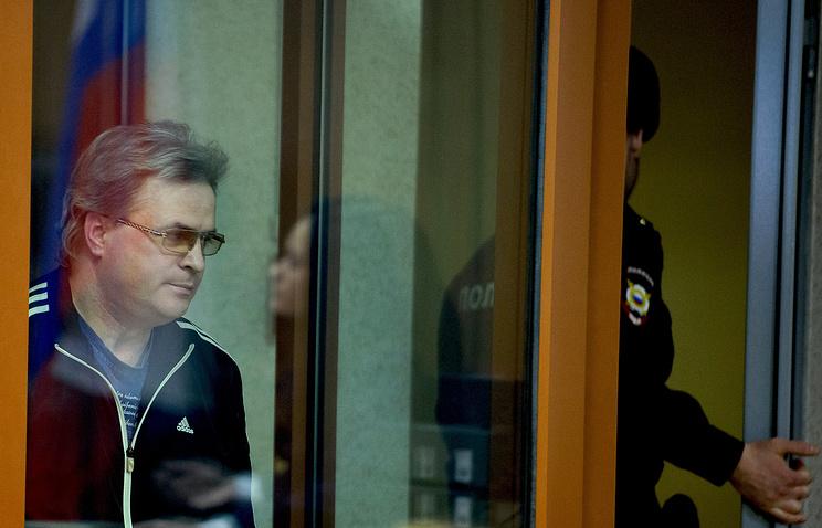 Бывший депутат екатеринбургской гордумы Олег Кинев во время оглашения приговора в Свердловском областном суде