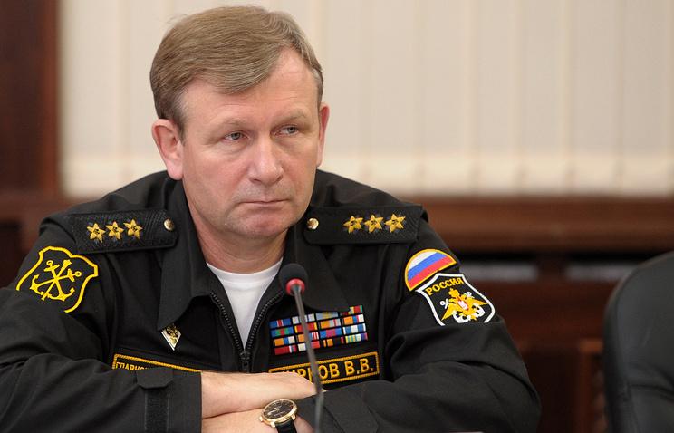 Главнокомандующий Военно-Морским Флотом России Виктор Чирков, 2013 год
