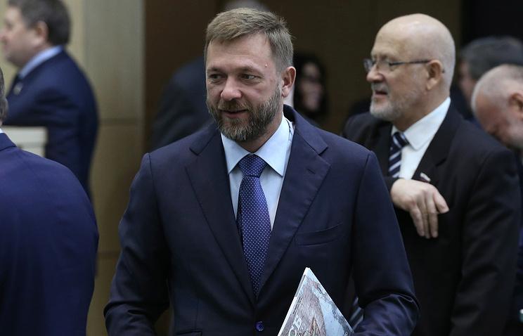 Член Совета Федерации Дмитрий Саблин