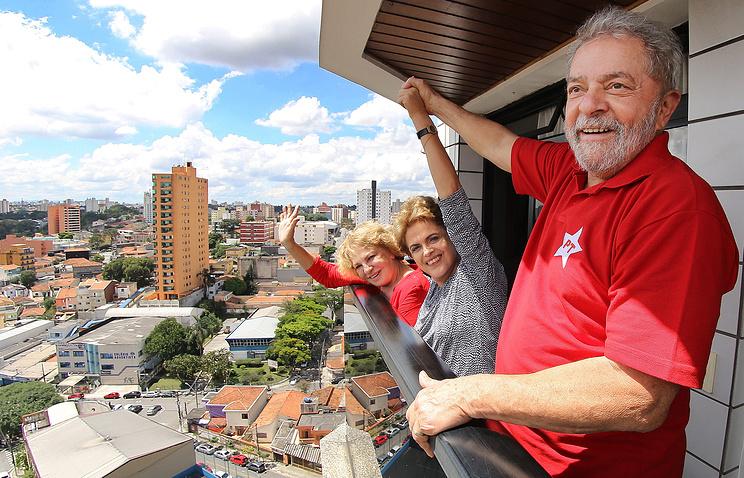 Луис Инасиу Лула да Силва и президент Бразилии Дилма Руссефф