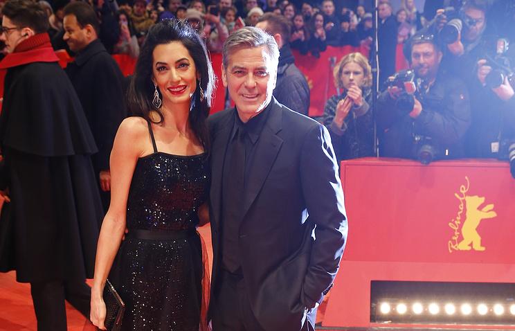 Джордж Клуни и его жена Амаль