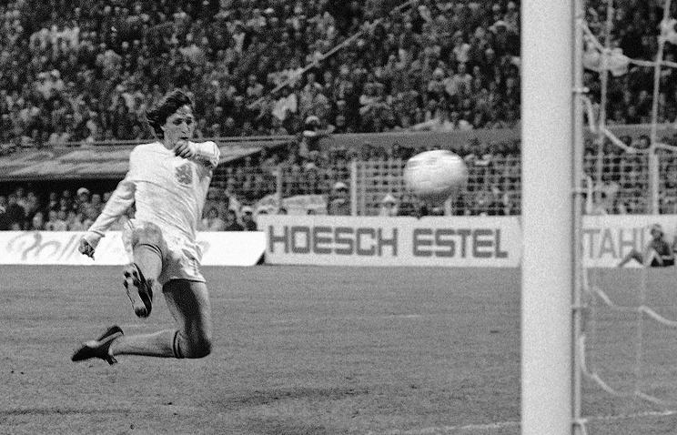 Йохан Кройф, 1974