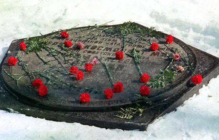 На месте гибели Юрия Гагарина