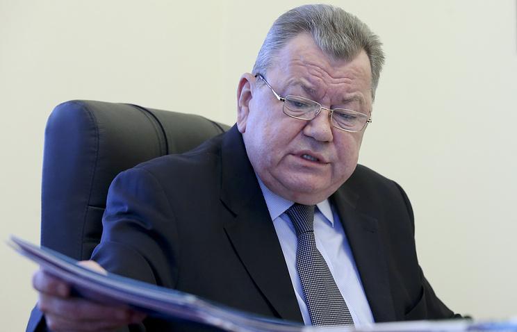 Заместитель министра иностранных дел Олег Сыромолотов
