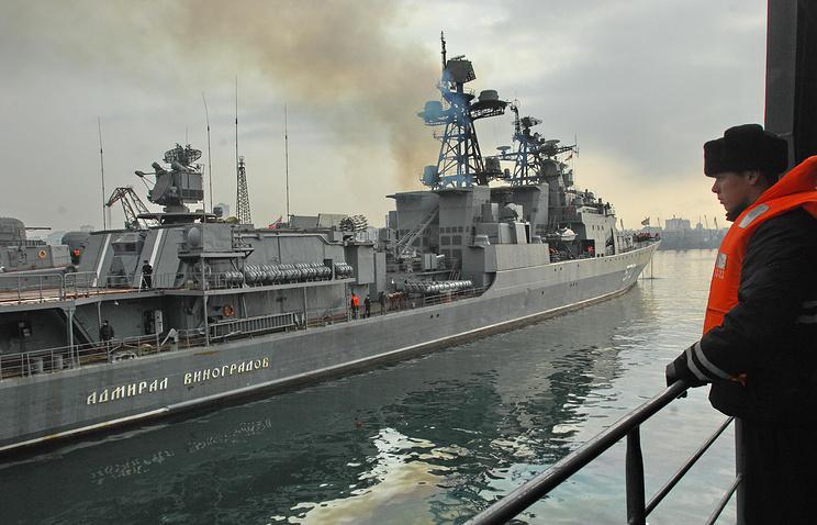 "Противолодочный корабль ""Адмирал Виноградов"""