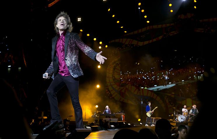 Выступление группы The Rolling Stones