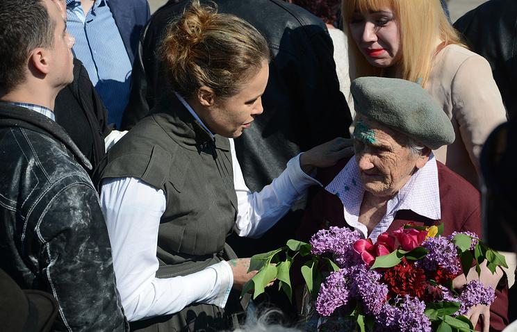 Любовь Печко (справа)
